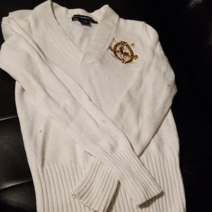 Vintage Ralph Lauren Sport V-neck sweater.
